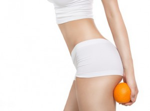 Femme de profil, orange